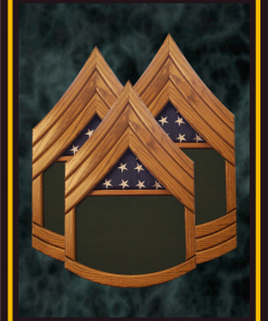 Army Top 3 Military Shadowboxes