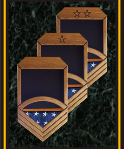 Navy Top 3 Military Shadowboxes